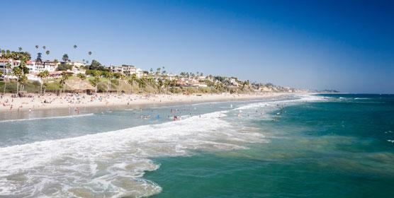 Pacific Beach at California