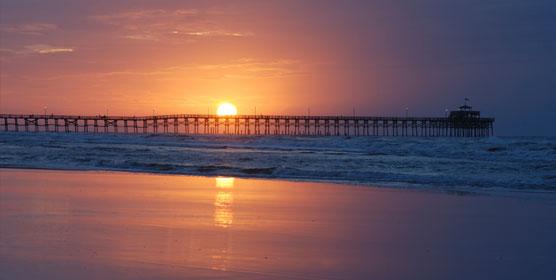 Pacific Beach Pier & Boardwalk at California